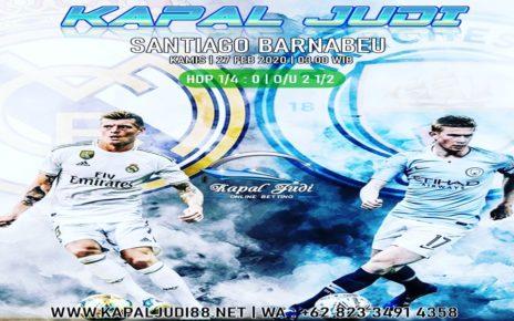 Real Madrid vs Man City 27 Februari