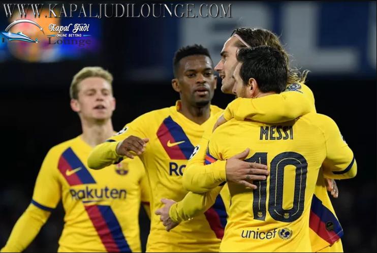 Barcelona Gagal Kalahkan Napoli Di Uefa Champions League