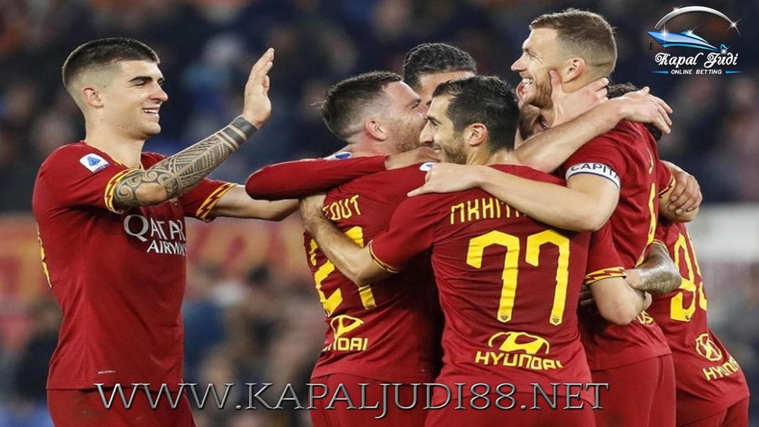 AS Roma Bisa Tersenyum Kembali Setelah Kalahkan Lecce