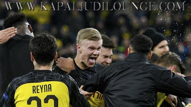 Berkat Erling Haaland Dortmund Berhasil Tumbangkan PSG