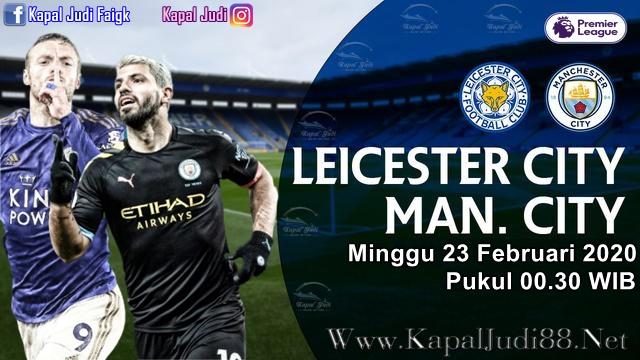 KapalJudi Prediksi Leicester City VS Manchester City