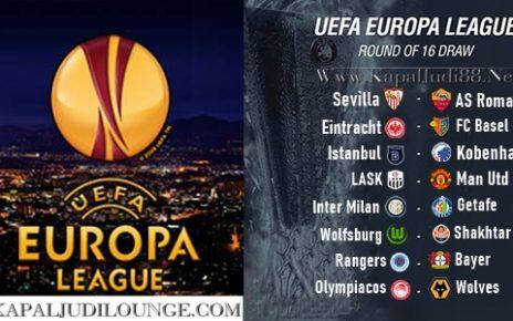 Drawing 16 Besar Leg 1 Of 2 Liga Eropa