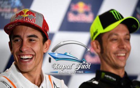 Marc Marquez Puji Valentino Rossi