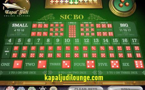 Paduan Bermain SicBo Di Casino
