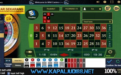 Info Kemenangan bermain Roulette 24 Maret 2020