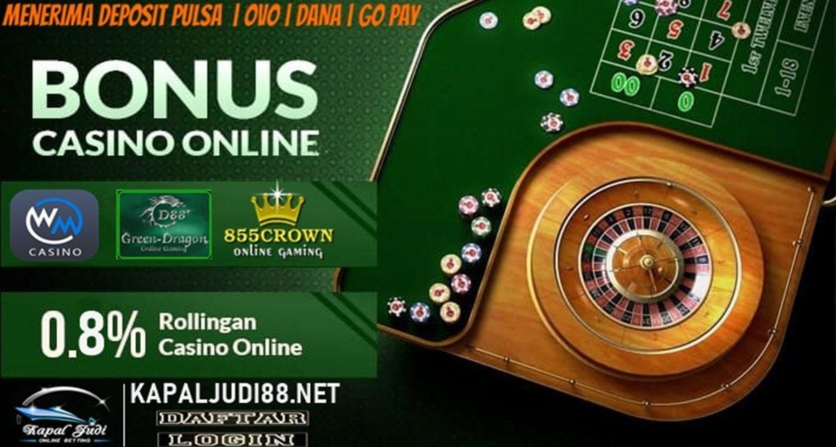 Info Kemenangan Bermain Casino Online KapalJudi