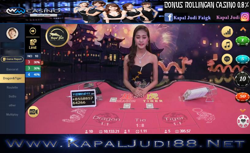 Info Kemenangan WM Casino 24 Maret 2020