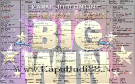 Jackpot Di KapalJudi Mix Parlay Sportbook 02 Maret 2020
