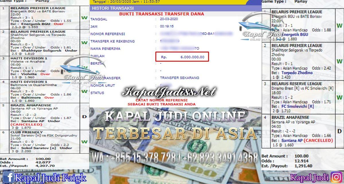 Jackpot Mix Parlay Info Kemenangan KapalJudi