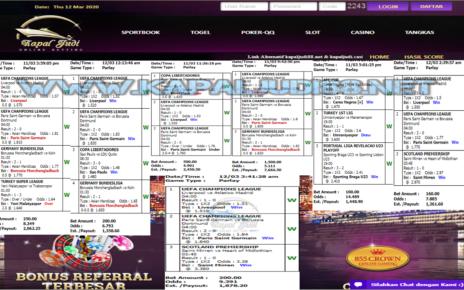 Info Kemenangan KapalJudi Mix Parlay