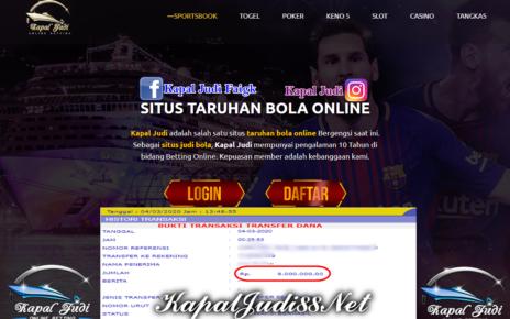 KapalJudi Info Kemenangan Single Bet Sportbook