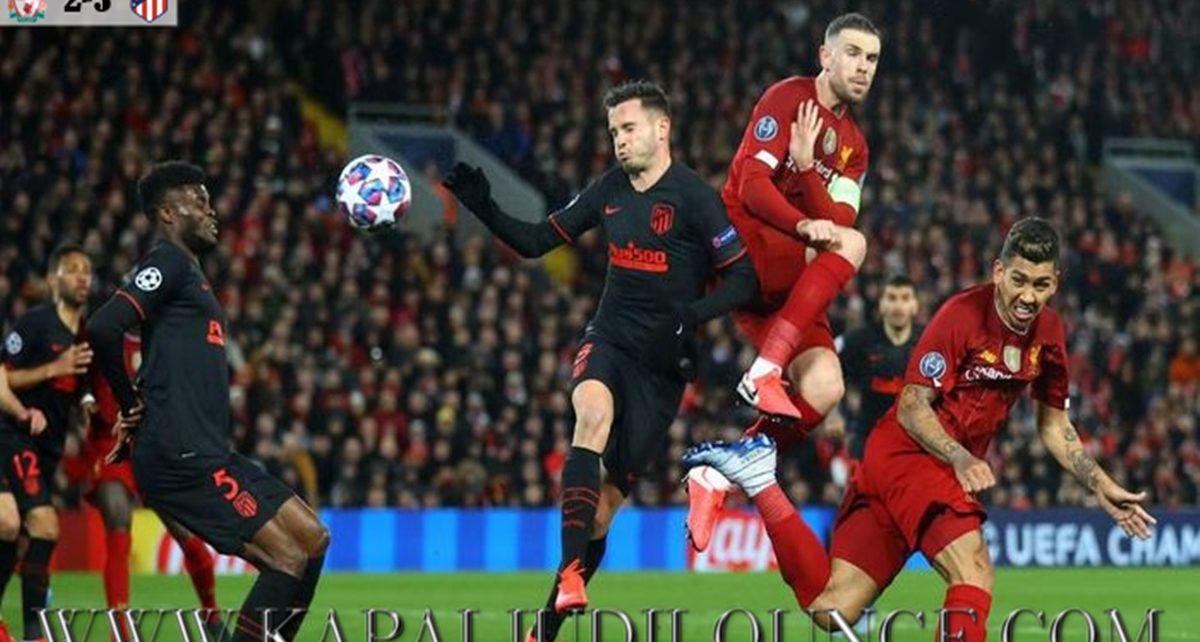 Juara Bertahan Liverpool Kalah Tipis Kontra Atletico Madrid