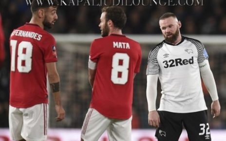 Manchester United Tumbangkan Derby County Piala FA