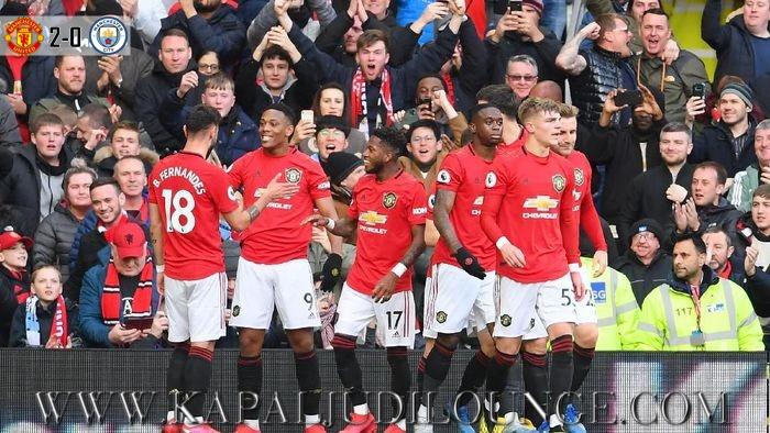 Setan Merah Berhasil Singkirkan Manchester City