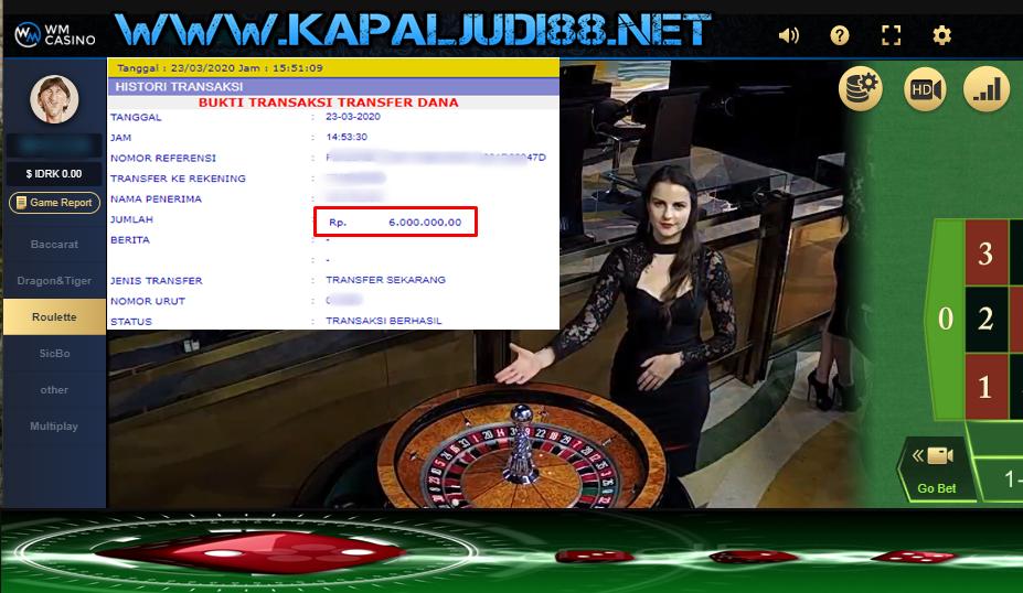 Info Kemenangan Bermain GD88 Casino KapalJudi