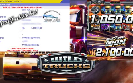 Info Kemenangan Bermain Slot Habanero Wild Trucks