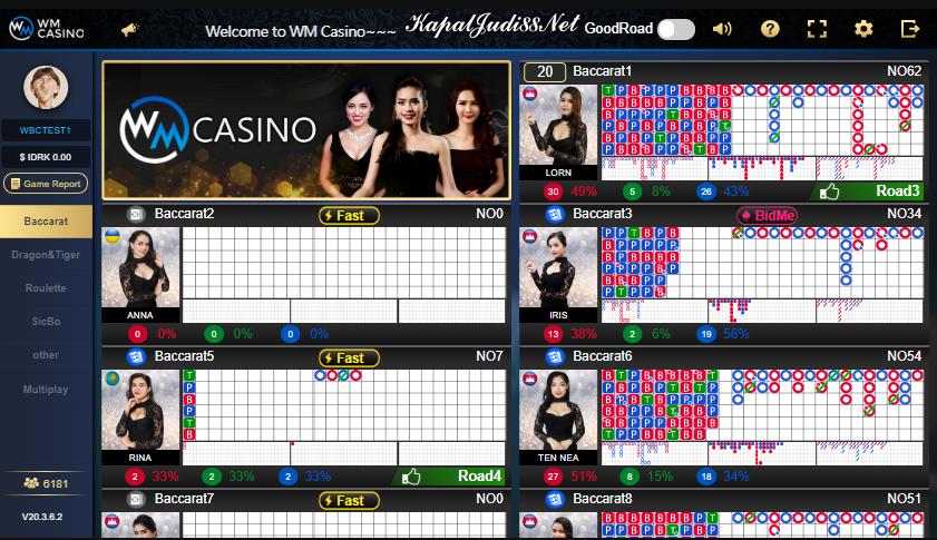 Info Kemenangan KapalJudi WM Casino