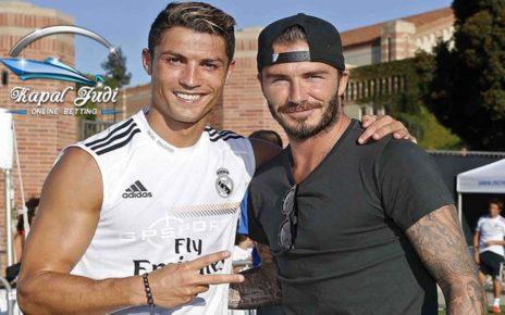 Ronaldo Tetap yang Terbaik Dibanding Messi kata Beckham