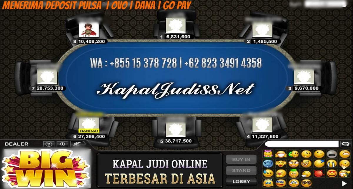 Info Kemenangan Bermain BandarQ Bersama KapalJudi