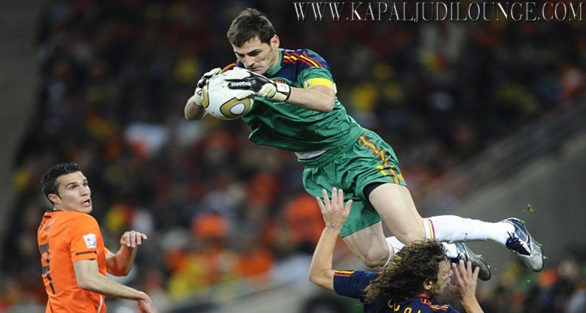 Iker Casillas Fernández Kiper Legendaris