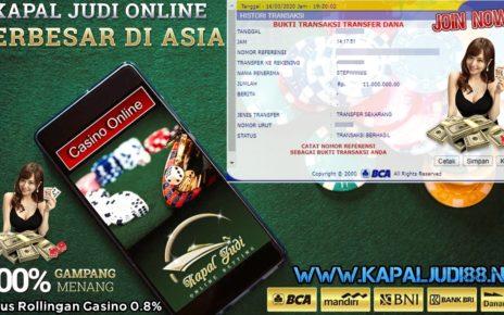 Info Kemenangan Terbesar KapalJudi Dalam Permainan WM Casino