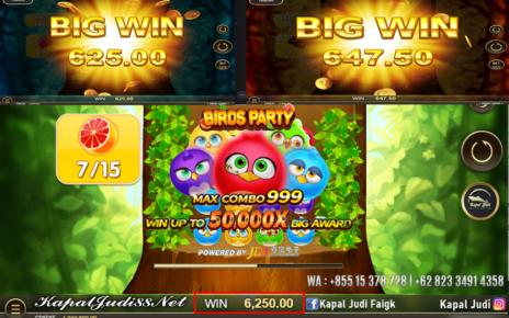 Info Kemenangan Bermain Slot JDB Birds Party