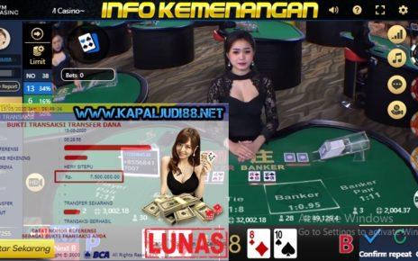 Info Kemenangan Terbesar KapalJudi Bermain WM Casino