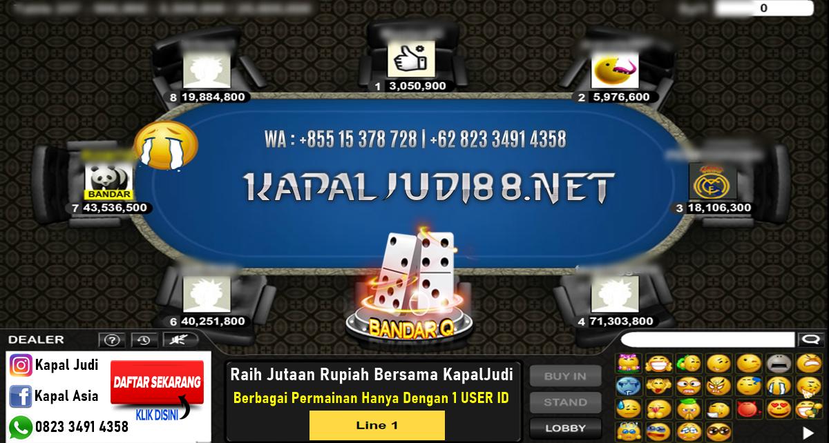 Menang Banyak Bermain PokerV, BandarQ