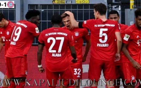 Bayern Munchen Menang Atas Gol Joshua Kimmich