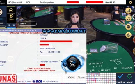 Info Kemengan Terbesar KapalJudi Bermain WM Casino