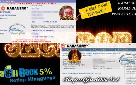 Jackpot Main Slot Habanero Bersama KapalJudi