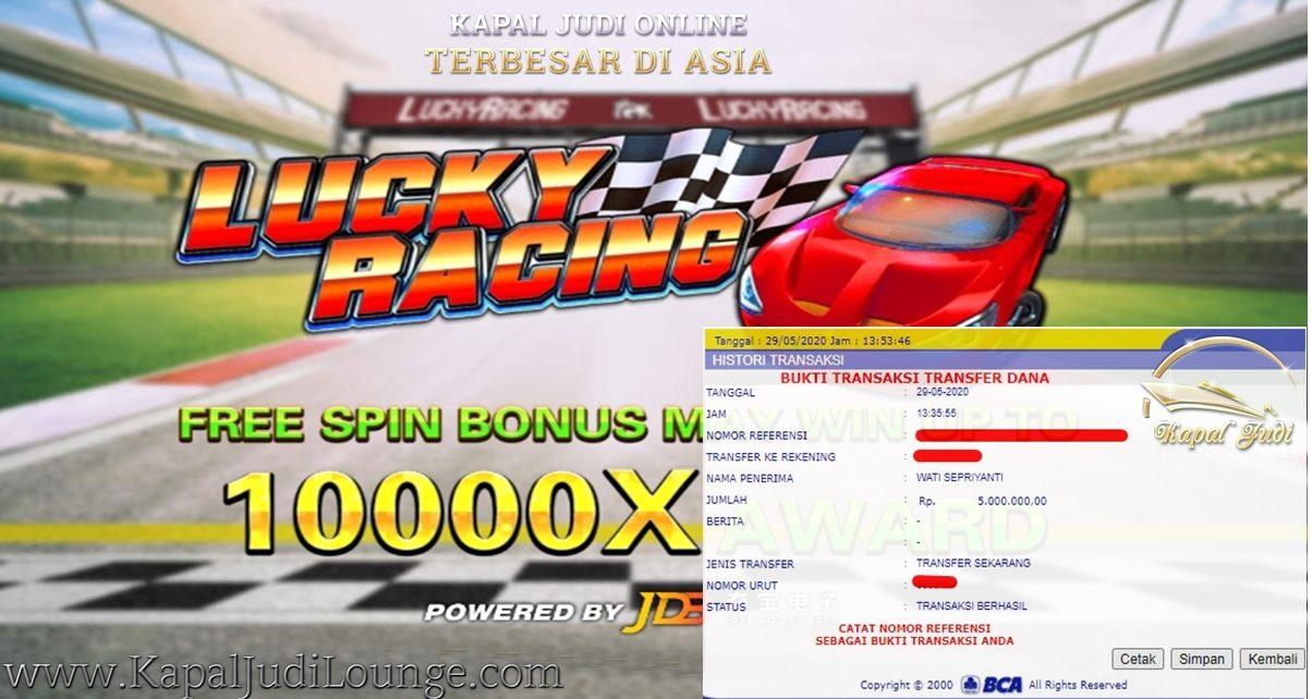 Info Kemenangan Bermain Slot Lucky Racing
