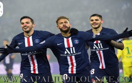 Paris Saint-Germain Resmi Jadi Juara Ligue 1
