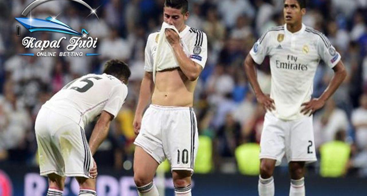 Madrid Mengalami Penurunan Derastis
