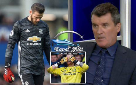 Roy Keane Ingin Memukul David De Gea saat Pertandingan Berlangsung