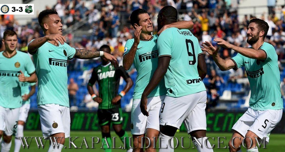 Inter Milan Vs Sassuolo Berakhir Imbang