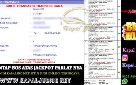 Jackpot Mix Parlay Paus Hingga 20 Jutaan