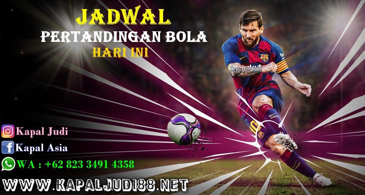 Jadwal Pertandingan Bola 16-17 Juli 2020 KapalJudi