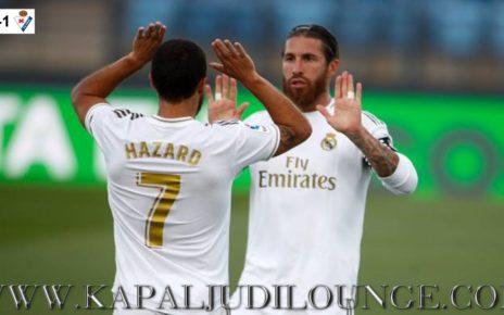 Kebangkitan Eden Hazard Bersama Real Marid
