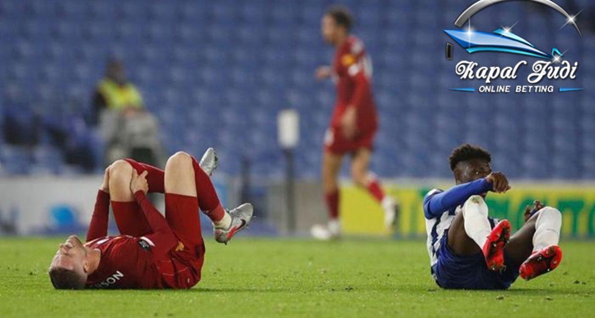 Kapten Liverpool Jordan Henderson telah Mengalami Cedera Lutut