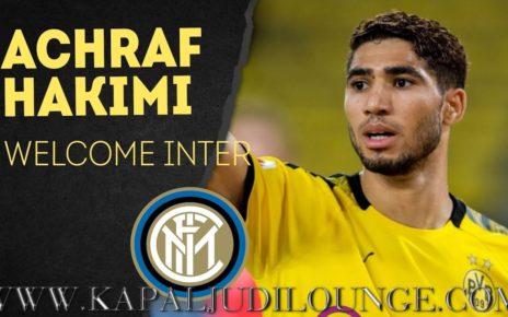 Achraf Hakimi Resmi Bergabung Bersama Inter Milan
