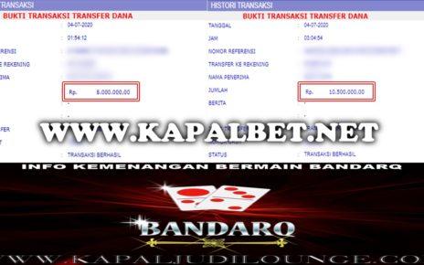 Info Kemenangan Bermain BandarQ 04 Juli 2020