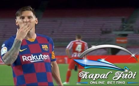 Lionel Messi Mencetak Gol ke-700 dalam Karirnya