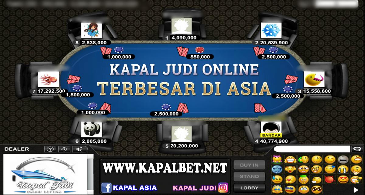 Info Kemenangan Bermain BandarQ KapalJudi