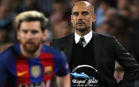 Akankah Josep Guardiola dan Lionel Messi Reuni?