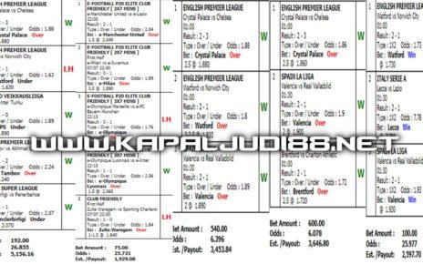 Kumpulan Jackpot Mix Parlay 08 Juli 2020 Kapaljudi