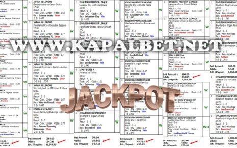 Kumpulan Jackpot Mix Parlay 05 Juli 2020 Kapaljudi