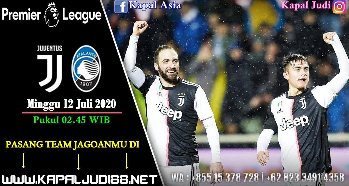 Prediksi Kapaljudi Juventus vs Atalanta 12 Juli 2020