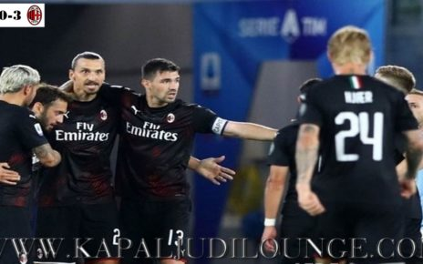 Lazio Kalah Telak Di Kandang Sendiri Kontra AC Milan