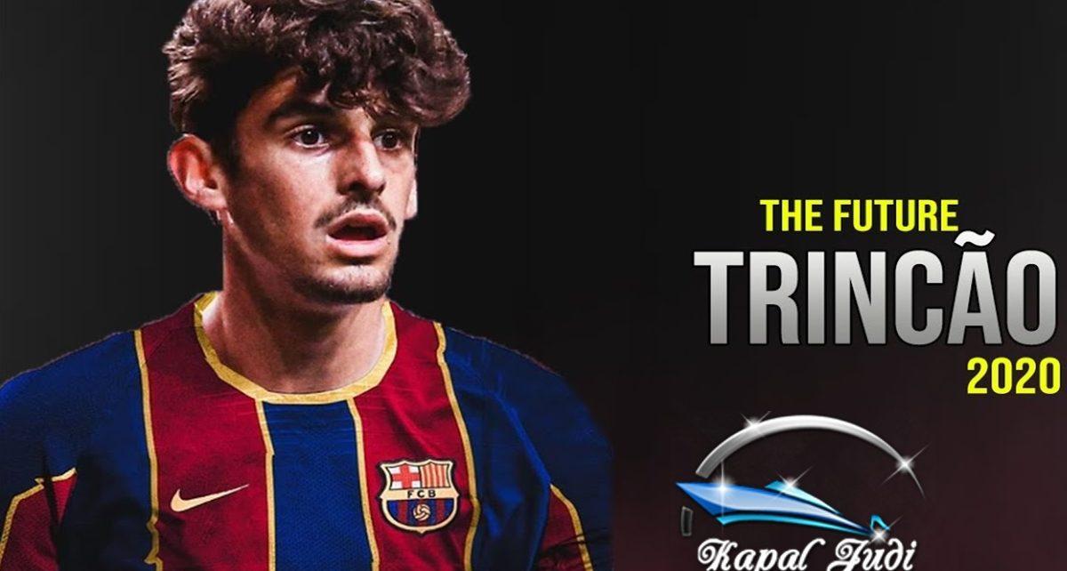 Francisco Trincao Bangga bisa masuk ke Barcelona
